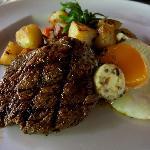 Steak for Breakfast! i LOVE!