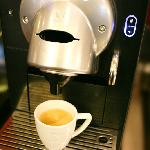 Restaurant - Petit-déjeuner, la Nespresso