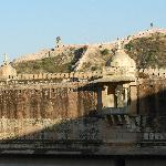 Amber Fort at sunset