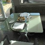 Un tipico tavolo da due