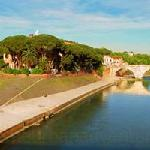 The magical Tiber island
