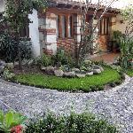 Garden View with the room Felipe
