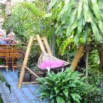 Hangmatte im Garten...