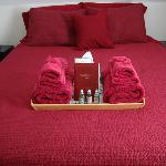Complimentary Trays with Towels/Soap/Room Booklets
