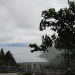 Looking out to Lake Toba