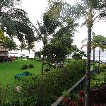 partial ocean view from lanai