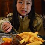 Children's Steak & Chips