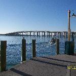 The bridge to and from Destin