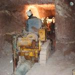 Our Tunneling Machine at work