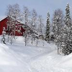 Winter time in Kvikkjokk