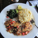 Fish Dinner at Coffee Hut - Yum!