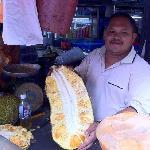 Jackfruit at the market