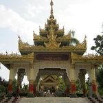 The main entrance into the pagoda
