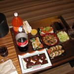 Iron Sushi goes great with Donuts and Soda