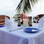 Beach-side Dining - Belize Luxury Resort