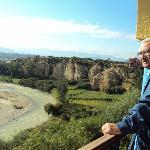 el Guadalquivir desde nuestra habitación