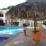Der Swimmingpool des Hotels