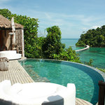 View from the jungle villa!