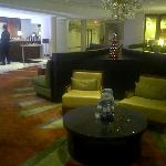 Miami Airport Marriott Lobby