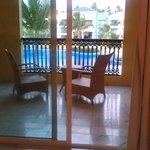 balcony, honeymoon room