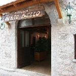 Entrance of the restaurant