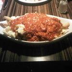 Spaghetti Meat Sauce Poutine
