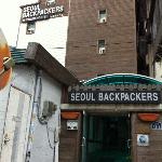 Exterior of Seoul Backpackers Hostel
