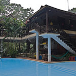 La Ferme du Colvert - Restaurant und Pool