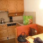 the kitchen set