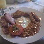 """Desayuno tipico, """"full irish breakfast"""""""