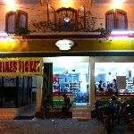 Convenient Store outside Gloria Amanda