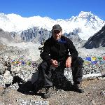 Wolfgang on the Everest Base Camp trek in 2010