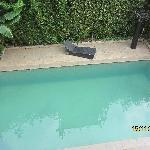 Vue sur la piscine