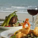 Grand Central Station Restaurant provides a spectacular view and mouth-watering entrees prepared
