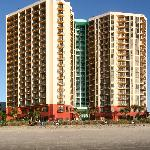 Patricia Grand is located oceanfront in the heart of Myrtle Beach.