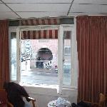 Window overlooking Damrak