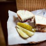 A yummy sandwich