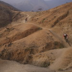 The spectacular Olleros trail - 11,000 vertical feet of descent!