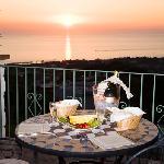 Balcony at Hotel Poggio del Sole
