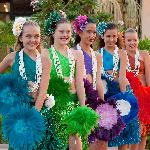 There is a fantastic Keiki Hula show every Tuesday evening at The Shops
