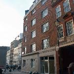 An old London building in Old Bloomsbury