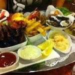 Seafood Platter with Cray Fish for 2