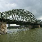 Bridge over the Rhine River