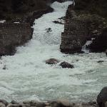 Gushing stream during the monsoons