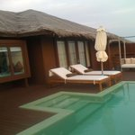 Water villa lagon