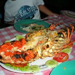 1.2kg Lobster ..... grilled to perfection!