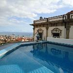Roof top swimming pool with amazing views of Funchal