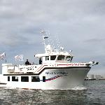 The fast luxurious boat, Rósin, meaning the Rose.