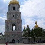 The bell tower of St. Sophia's
