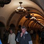 "Kiev metro stop ""Zoloti Vorota"""